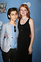 "LOS ANGELES - MAY 6:  Aidan Gallagher, Hannah McCloud at the ""Everything, Everything"" Premiere on the TCL Chinese 6 Theater on May 6, 2017 in Los Angeles, CA"