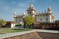 Jaswant Thanda Mausoleum von Mahraja Jawant Singh IIIndien, Jodhpur (Rajasthan), Indien