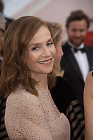 Isabelle Huppert at the premiere for &quot;The Killing of a Sacred Deer&quot; at the 70th Festival de Cannes, Cannes, France. 22 May 2017<br /> Picture: Paul Smith/Featureflash/SilverHub 0208 004 5359 sales@silverhubmedia.com