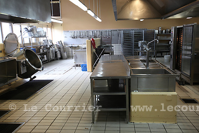 Genève, le 18.08.2010.Prison genevoise de Champ-Dollon..Cuisine de la prison..© Jean-Patrick / Le Courrier