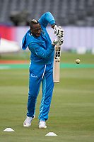 Andre Russell (West Indies) warms up during West Indies vs New Zealand, ICC World Cup Warm-Up Match Cricket at the Bristol County Ground on 28th May 2019
