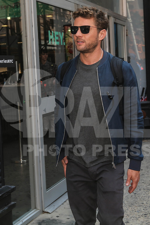 NEW YORK, EUA, 10.07.2017 - RYAN-PHILLIPPE - O ator norte-americano<br /> Ryan Phillippe é visto no bairro do Soho na cidade de New York nesta segunda-feira, 10. (Foto: Vanessa Carvalho/Brazil Photo Press)