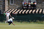 Tiger Woods (USA),<br /> June 15, 2013 - Golf :<br /> Tiger Woods of United States lines up on 7th hole during the third round of the U.S. Open Championship at the Merion Golf Club, East course in Haverford Township, Delaware Country, Pennsylvania. (Photo by Koji Aoki/AFLO SPORT) [0008]