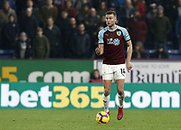 Burnley's Ben Gibson<br /> <br /> Photographer Rich Linley/CameraSport<br /> <br /> The Premier League - Burnley v Everton - Wednesday 26th December 2018 - Turf Moor - Burnley<br /> <br /> World Copyright &copy; 2018 CameraSport. All rights reserved. 43 Linden Ave. Countesthorpe. Leicester. England. LE8 5PG - Tel: +44 (0) 116 277 4147 - admin@camerasport.com - www.camerasport.com