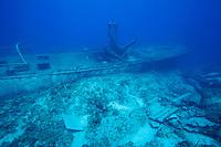 "Wreck of the ""Austin Smith"", Exuma Islands, Bahamas"
