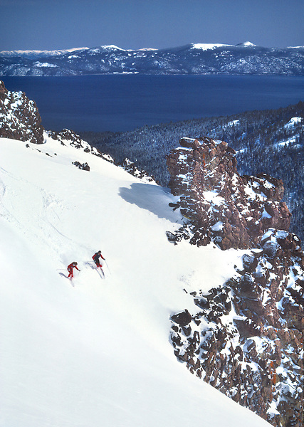 Lake Tahoe Skiing at Alpine Meadows
