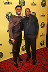 L. Steven Taylor and Alton Fitzgerald White attend the 20th Anniversary Performance of 'The Lion King' on Broadway After Party at The Minskoff Theatre on November 5, 2017 in New York City.