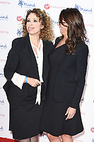 Nadia Sawalha and Andrea McLean<br /> arriving for the Giving Mind Media Awards 2017 at the Odeon Leicester Square, London<br /> <br /> <br /> ©Ash Knotek  D3350  13/11/2017