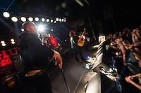Chuck Ragan, ehemaliger Lead-Saenger der Post-Hardcore-Band &quot;Hot Water Music&quot; aus Gainesville, Florida  live am Freitag den 7. Juni 2014 im SO36.<br /> 7.6.2014, Berlin<br /> Copyright: Christian-Ditsch.de<br /> [Inhaltsveraendernde Manipulation des Fotos nur nach ausdruecklicher Genehmigung des Fotografen. Vereinbarungen ueber Abtretung von Persoenlichkeitsrechten/Model Release der abgebildeten Person/Personen liegen nicht vor. NO MODEL RELEASE! Don't publish without copyright Christian-Ditsch.de, Veroeffentlichung nur mit Fotografennennung, sowie gegen Honorar, MwSt. und Beleg. Konto:, I N G - D i B a, IBAN DE58500105175400192269, BIC INGDDEFFXXX, Kontakt: post@christian-ditsch.de]