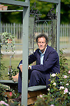 Monty Don presenter of gardeners world pictured at the RHS Hampton court Flower Show. <br /> <br /> Bethany Clarke / RHS / 2015