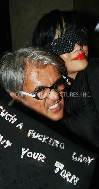WWW.ACEPIXS.COM . . . . .  ....September 10 2009, New York City....Singer Rihanna and designer Giuseppe Zanotti at the World of Giuseppe Zanotti during Fashion's Night Out at the Giuseppe Zanotti Boutique on September 10, 2009 in New York City....Please byline: NANCY RIVERA- ACE PICTURES.... *** ***..Ace Pictures, Inc:  ..tel: (212) 243 8787 or (646) 769 0430..e-mail: info@acepixs.com..web: http://www.acepixs.com