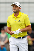 28th May 2017, Fort Worth, Texas, USA; Sergio Garcia walks up the 6th fairway during the final round of the PGA Dean & Deluca Invitational at Colonial Country Club in Fort Worth, TX.
