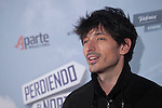 Actor and model Andres Velencoso poses during `Perdiendo el Norte´ film premiere photocall in Madrid, Spain. March 05, 2015. (ALTERPHOTOS/Victor Blanco)