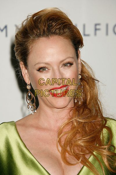 "VIRGINIA MADSEN.14th Annual Race to Erase MS Themed ""Dance to Erase MS"" held at the Century Plaza Hotel, Century City, California, USA, 13 April 2007..portrait headshot red lipstick green dress.CAP/ADM/RE.©Russ Elliot/AdMedia/Capital Pictures."