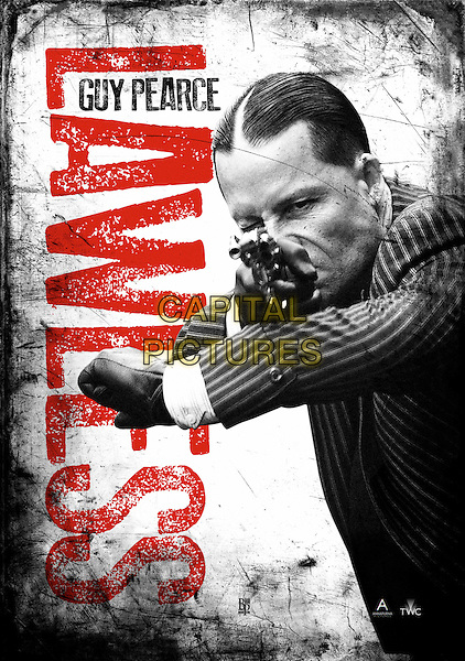 POSTER ART with GUY PEARCE.in Lawless (2012) .*Filmstill - Editorial Use Only*.CAP/FB.Supplied by Capital Pictures.
