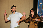 Daniel Cosgrove & fan - So Long Springfield event celebrating 7 wonderful decades of Guiding Light which brought out Guiding Light Actors as they  came to see fans at the Hyatt Regency in Pittsburgh, PA. for Q & A, acting scenes between actors and fans by GL finest during the weekend of October 25, 2009. (Photo by Sue Coflin/Max Photos)