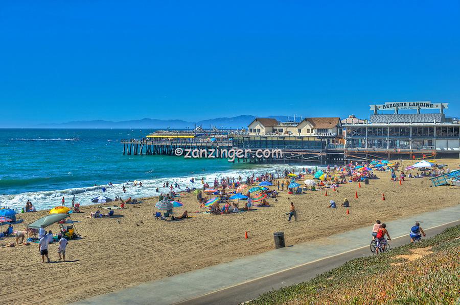 Redondo Beach, CA, Beach City,  Southern California South Bay, King Harbor