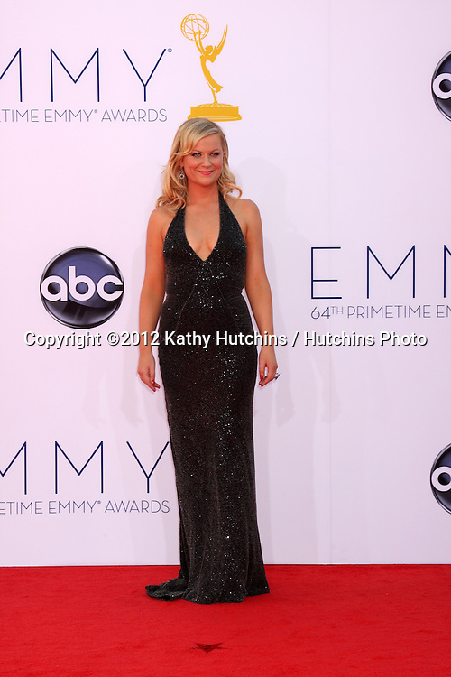 LOS ANGELES - SEP 23:  Amy Poehler arrives at the 2012 Emmy Awards at Nokia Theater on September 23, 2012 in Los Angeles, CA