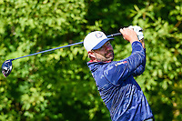 Ryan Moore (USA) watches his tee shot on 10 during the practice round at the Ryder Cup, Hazeltine National Golf Club, Chaska, Minnesota, USA.  9/29/2016<br /> Picture: Golffile | Ken Murray<br /> <br /> <br /> All photo usage must carry mandatory copyright credit (&copy; Golffile | Ken Murray)