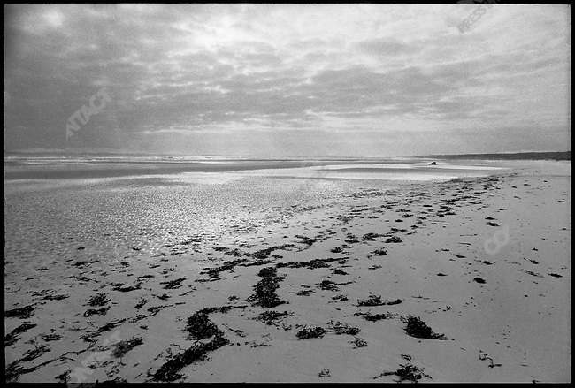 Omaha Beach, Normandy, France, June 1974