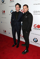 Los Angeles, CA - NOVEMBER 05: Robert Pattinson, Ewan McGregor at The 10th Annual GO Campaign Gala in Los Angeles At Manuela, California on November 05, 2016. Credit: Faye Sadou/MediaPunch