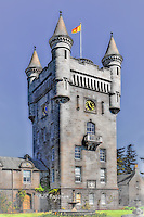 Balmoral Castle is the private Scottish residence of The Queen on Royal Deeside Scotland. It was purchased by Prince Albert for Queen Victoria  in 1852. Balmoral is one of only a few Royal properties that is owned by The Monarch rather than the state.  www.dSider.co.uk dsider whats on Ballater guide.Copyright Bill Bagshaw