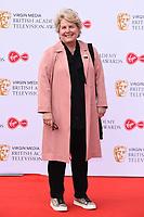 Sandi Toksvig<br /> arriving for the BAFTA TV Awards 2019 at the Royal Festival Hall, London<br /> <br /> ©Ash Knotek  D3501  12/05/2019