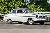 BNPS.co.uk (01202 558833)<br /> Pic: SilverstoneAuctions/BNPS<br /> <br /> 1958 Borgward Isableea TS Saloon<br /> <br /> A quirky collection of rare and unusual cars is set to go under the hammer for more than £300,000.<br /> <br /> The group of 16 classic motors range from hand-built replica racing cars to barely used family saloons.<br /> <br /> They are currently owned by an esteemed British collector but have now been consigned to sale with Silverstone Auctions of Ashorne, Warwicks.