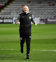 Yeovil Town manager Darren Way during the pre-match warm-up<br /> <br /> Photographer Andrew Vaughan/CameraSport<br /> <br /> The EFL Sky Bet League Two - Lincoln City v Yeovil Town - Friday 8th March 2019 - Sincil Bank - Lincoln<br /> <br /> World Copyright © 2019 CameraSport. All rights reserved. 43 Linden Ave. Countesthorpe. Leicester. England. LE8 5PG - Tel: +44 (0) 116 277 4147 - admin@camerasport.com - www.camerasport.com