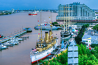 Delawrare River, Waterfront, Penn's Landing, Dockside Condos Philadelphia PA, Pennsylvania, City, United States,