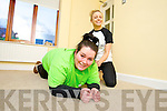 Aisling Powell (Rahoonane, Tralee) taking part in the Operation Transformation fundraiser for Console charity with Siobhan Sentry (Advanced Fitness Education).