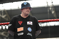 Ricky Hatton during a Public Workout at Old Spitalfields Market on 9th July 2019