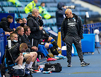 Preston North End manager Alex Neil talks to his team<br /> <br /> Photographer Alex Dodd/CameraSport<br /> <br /> The EFL Sky Bet Championship - Sheffield Wednesday v Preston North End - Wednesday 8th July 2020 - Hillsborough - Sheffield<br /> <br /> World Copyright © 2020 CameraSport. All rights reserved. 43 Linden Ave. Countesthorpe. Leicester. England. LE8 5PG - Tel: +44 (0) 116 277 4147 - admin@camerasport.com - www.camerasport.com