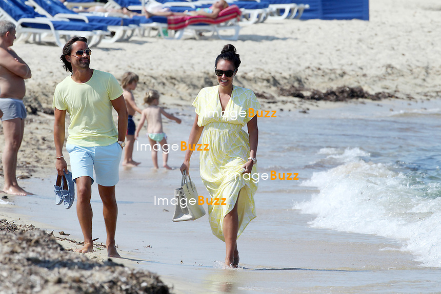 "TAMARA ECCLESTONE & JAY RUTLAND ON HONEYMOON IN SAINT TROPEZ - June 15, 2013-Tamara Ecclestone and new husband Jay Ruttland enjoying their honeymoon in Saint-Tropez, France.Following a romantic lunch lunch at "" Les Palmiers "" restaurant, the newly wed couple walked on the famous beach of Pampelonne before heading back on board their luxurious $370,000 'Silver Angel' yacht per week."