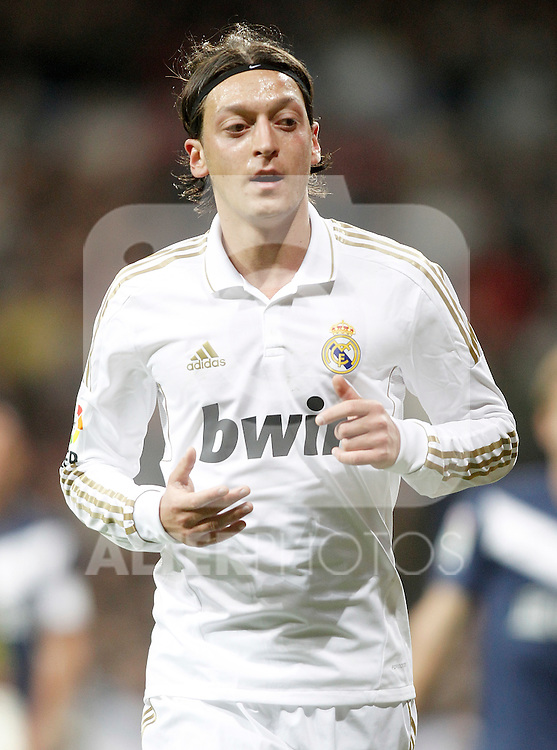 Real Madrid's Mesut Özil during La Liga Match. March 18, 2012. (ALTERPHOTOS/Alvaro Hernandez)