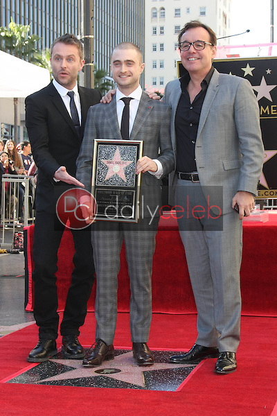 Chris Hardwick, Chris Columbus, Daniel Radcliffe<br />