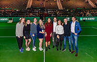 Rotterdam, The Netherlands, 17 Februari 2019, ABNAMRO World Tennis Tournament, Ahoy, Team Vincent van Heijningen<br /> Photo: www.tennisimages.com/Henk Koster