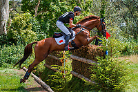 CHN-Alex Hua Tian rides Don Geniro during the Cross Country for the Sema Lease CCI4*-L. 2019 IRL-Sema Lease Camphire International Horse Trials. Cappoquin. Co. Waterford. Ireland. Saturday 27 July. Copyright Photo: Libby Law Photography
