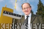 Tom Foley outside Liebherr on Tuesday   Copyright Kerry's Eye 2008