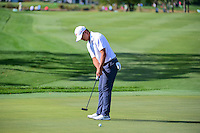 Si Woo Kim (KOR) watches his putt on 12 during round 1 of the Honda Classic, PGA National, Palm Beach Gardens, West Palm Beach, Florida, USA. 2/23/2017.<br /> Picture: Golffile | Ken Murray<br /> <br /> <br /> All photo usage must carry mandatory copyright credit (&copy; Golffile | Ken Murray)