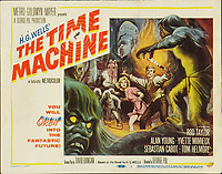 The Time Machine (1960) <br /> Lobby card with Rod Taylor &amp; Yvette Mimieux<br /> *Filmstill - Editorial Use Only*<br /> CAP/KFS<br /> Image supplied by Capital Pictures