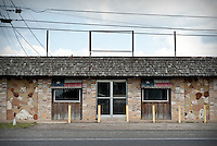An old shop along the main street in Crawford, Texas, US, Wednesday, April 14, 2010. The town was nicknamed the Western White House by President George W. Bush because of frequent visits and his ranch...PHOTO/ MATT NAGER