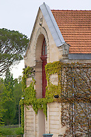 winery building chateau la garde pessac leognan graves bordeaux france