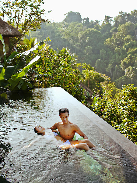 Bali indonesia luxury resort hotel and spa photography for Garden pool villa ubud