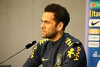 Dani Alves (Brasilien Brasilia) - 26.03.2018: Abschlusstraining der Deutschen Nationalmannschaft, Olympiastadion Berlin