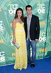 Actress Summer Glau arrives at the 2008 Teen Choice Awards at the Gibson Amphitheater on August 3, 2008 in Universal City, California.