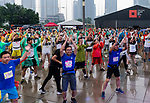 Pre-Race - Bloomberg Square Mile Relay Shanghai 2018