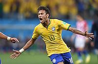 Fussball WM 2014: Brasilien gegen Kroatien und Eröffnungsfeier