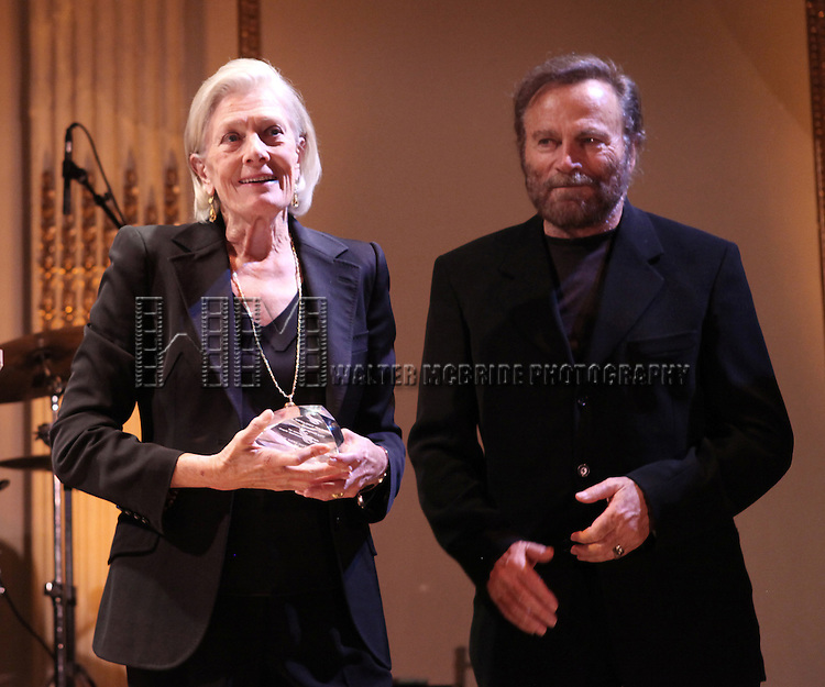 Vanessa Redgrave & Franco Nero attending the American Theatre Wing's annual gala at the Plaza Hotel on Monday Sept. 24, 2012 in New York.