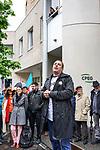 Gen&egrave;ve, le 04.05.2017<br /> Environ septante fonctionnaires se sont rassemblés, jeudi après-midi, devant les portes de la Caisse de prévoyance de l&rsquo;Etat de Genève (CPEG).<br /> Marc Simeth Pr&eacute;sident du cartel.<br /> &copy; Jean-Patrick Di Silvestro